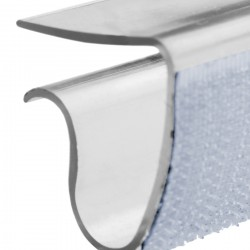 Tafelclip kunststof voor tafelblad dikte 10 tot 25 mm