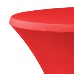 Statafelrok samba D2 met topcover rood