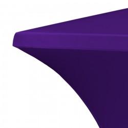Statafelrok vierkant 80 x 80 cm model rumba paars