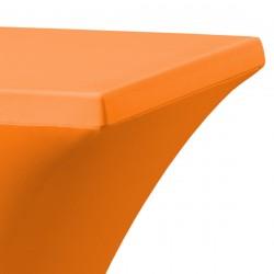 Statafelrok vierkant 80 x 80 cm model rumba oranje