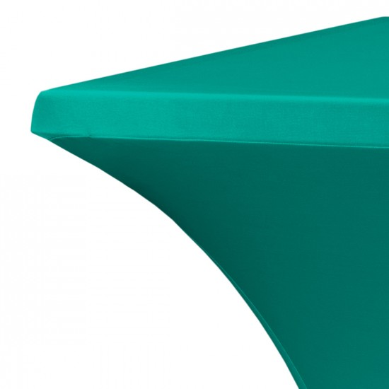 Statafelrok vierkant 80 x 80 cm model rumba groen