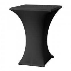 Statafelrok vierkant 80 x 80 cm model rumba zwart