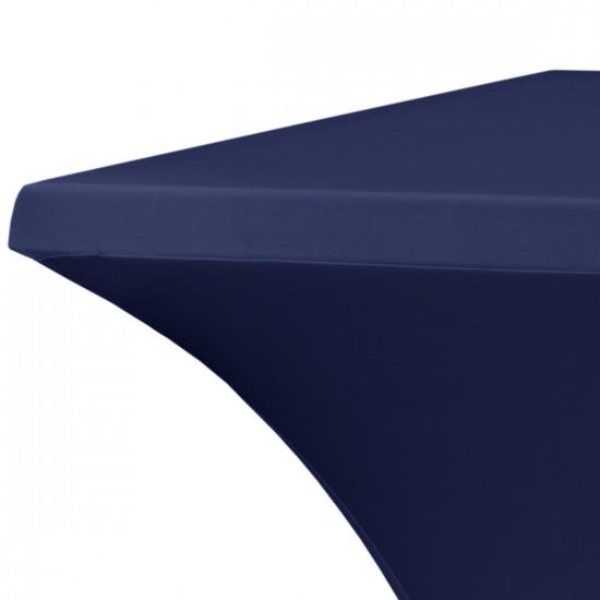 Statafelrok vierkant 80 x 80 cm model rumba donkerblauw