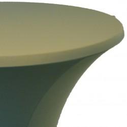 Statafelrok Élégance mosgroen voor statafel 80-85 cm