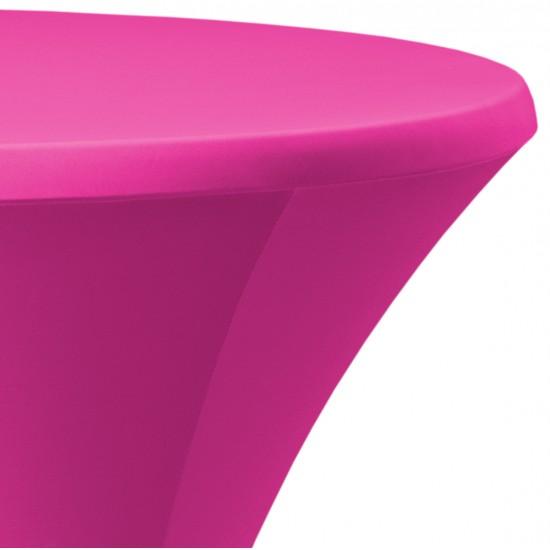 Statafelrok Élégance roze voor statafel 80-85 cm