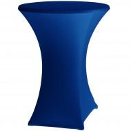 Statafelrok Élégance blauw voor statafel 80-85 cm