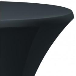 Statafelrok Élégance antraciet voor statafel 80-85 cm