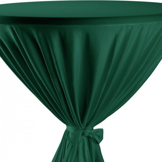 Statafelrok met strik model Garden groen