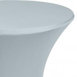 Statafelrok Élégance grijs voor statafel 80-85 cm