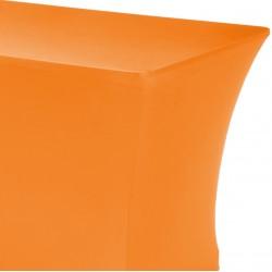 Tafelhoes rechthoek symposium 183 x 76 x 73 cm oranje