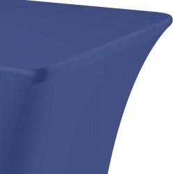Tafelhoes rechthoek symposium 183 x 76 x 73 cm blauw
