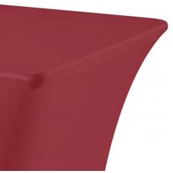 Tafelhoes rechthoek symposium 183 x 76 x 73 cm bordeaux