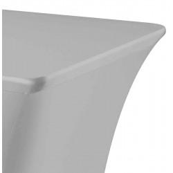 Tafelhoes rechthoek symposium 183 x 76 x 73 cm grijs