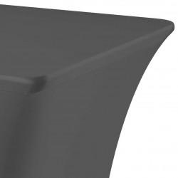 Tafelhoes rechthoek symposium 183 x 76 x 73 cm antraciet