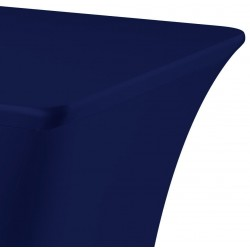 Tafelhoes rechthoek symposium 183 x 76 x 73 cm donkerblauw