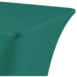 Tafelhoes rechthoek symposium 183 x 76 x 73 cm groen