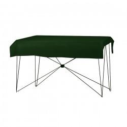 Tafelkleed rechthoekig polyester kleur groen