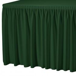 Tafelrok combirok plissé rechthoek groen