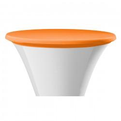 Statafel topcover samba rond oranje