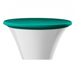 Statafel topcover samba rond groen