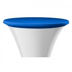 Statafel topcover samba rond blauw