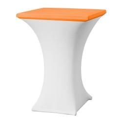 Topcover vierkant 80 x 80 cm oranje