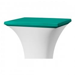 Topcover vierkant 80 x 80 cm groen